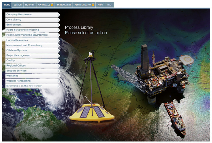 new process library with high res photos in the background