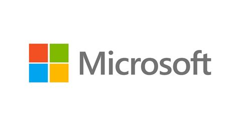 four coloured squares with Microsoft written next to it