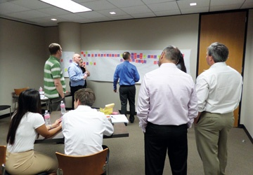 A process mapping workshop